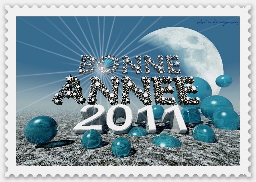 Bonne année 2011 à tous !
